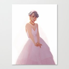 Wedding Dress | Viktor Canvas Print
