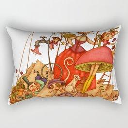 The Books World Rectangular Pillow