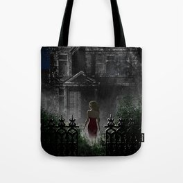 """Old house, """"Red Dress"""" Collection  Tote Bag"""
