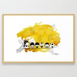 Pamilya ii Framed Art Print