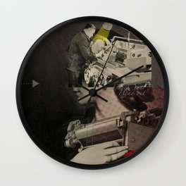 Nana Feuerbach Wall Clock