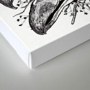 Skull Pile Canvas Print