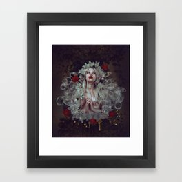 hunger (full) Framed Art Print