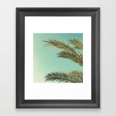 Autumn Palms II Framed Art Print