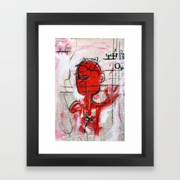 Grasping For Air New Orlean's Jazz Framed Art Print