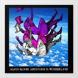 Alice Falls and Falls Canvas Print