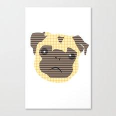 Pug! Canvas Print