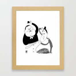 Laurel and Hardy  Framed Art Print