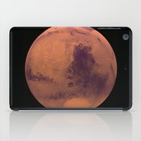 mars iPad Cases featuring Mars by Tobias Bowman