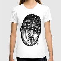 biggie smalls T-shirts featuring Biggie Smalls Life and Death by sketchnkustom