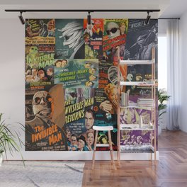 The Invisible Man Wall Mural