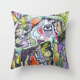 When Will I See You Throw Pillow