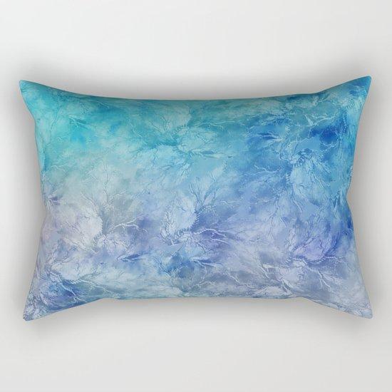 Frozen Leaves 13 Rectangular Pillow