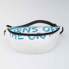 Aerobics Gift Idea Aerobics Burn Off the Crazy Fanny Pack