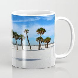 Clearwater Pier And Beach Coffee Mug