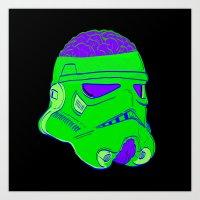 Braintrooper Art Print