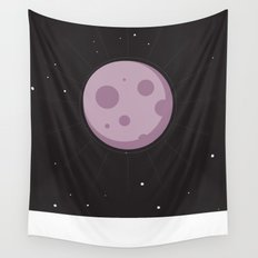 Purple Moon Wall Tapestry