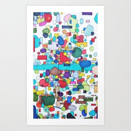 River City Art Print