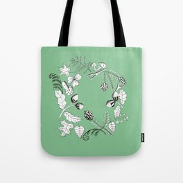 Forest Wreath Tote Bag