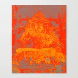 Bold Buddha Canvas Print
