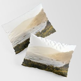 Route 1 along the Pacific Ocean in Northern California Pillow Sham