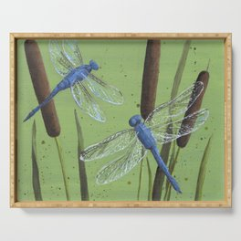 Dragonflies Serving Tray