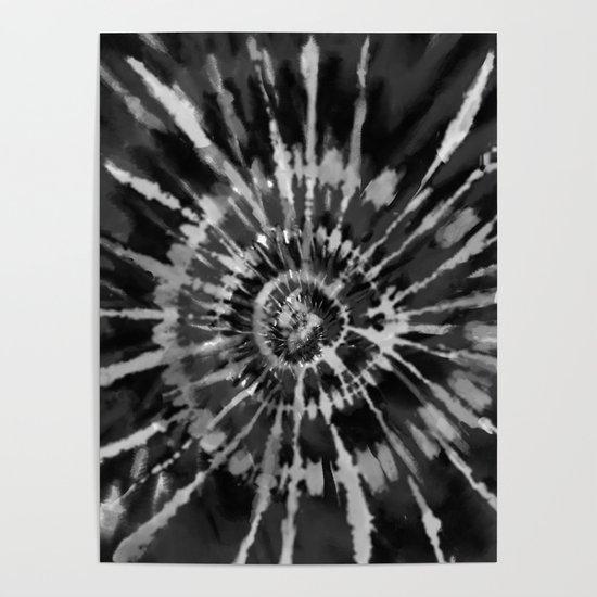 Black Tie Dye by chinhairdesigns