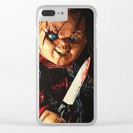 Chucky Clear iPhone Case