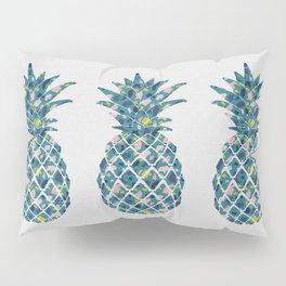 Pineapple Teal Pillow Sham
