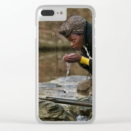 Survival Wednesday Clear iPhone Case