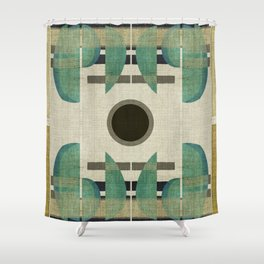 """""""Abstract Ships at the Sea"""" Shower Curtain"""