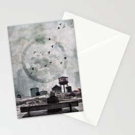 Living in the past Stationery Cards