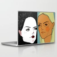 sister Laptop & iPad Skins featuring Sister Sister by Le Butthead