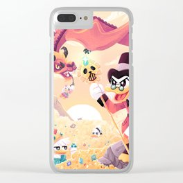 Ducktales Clear iPhone Case