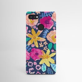 happy flowers Android Case