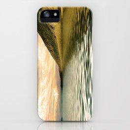 mountain lake 4 iPhone Case