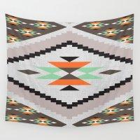 navajo Wall Tapestries featuring Navajo by Priscila Peress