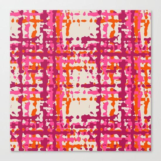 hot weave Canvas Print