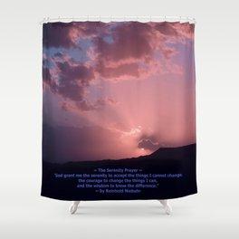 Serenity Prayer - IV Shower Curtain