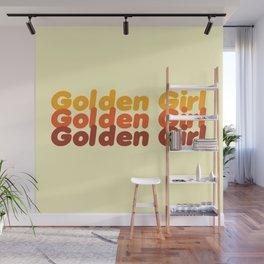 The Golden Girl Wall Mural