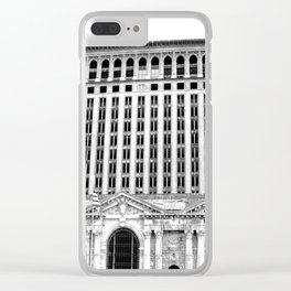 MICHIGAN CENTRAL TRAIN STATION - DETROIT Clear iPhone Case