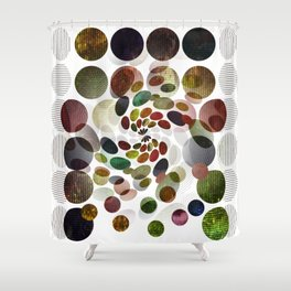 not a black hole planet Shower Curtain