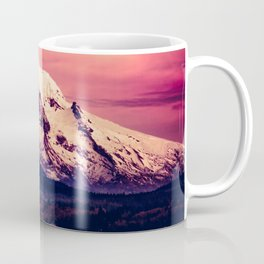 Mt Hood Mountain with Snow Coffee Mug