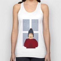 home alone Tank Tops featuring Home Alone by Robert Scheribel