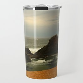 Otter Rock Beach Travel Mug