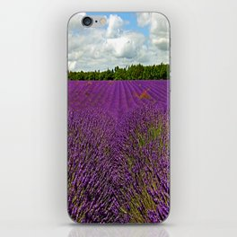 Lavender Landscape (Version 1)  iPhone Skin