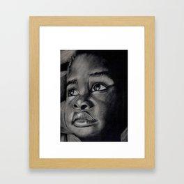 Love in Deed & Truth Framed Art Print