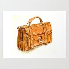 Brown Bag Art Print