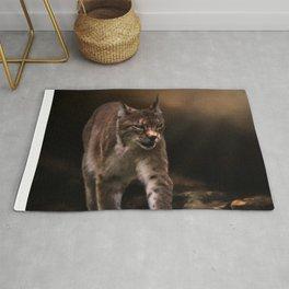 Into The Light - Lynx Art Rug