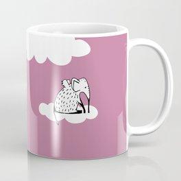 Flying Elephant by Amanda Jones Coffee Mug